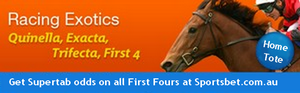 Bet on Quinella, Trifecta & First Four