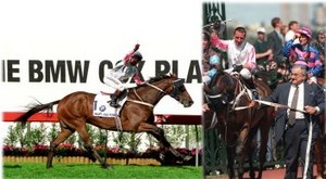 Might and Power - Melbourne Cup Winner 1997. Image: copyright Living Legends