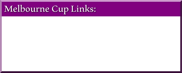 fixed odds betting melbourne cup form