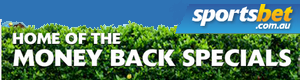 Sportsbet Money Back Specials